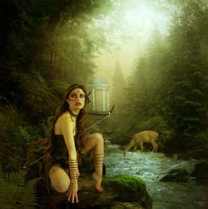 Photo of art taken from http://zkilic9.blogspot.co.uk/2013/01/artemis-greek-goddess.html