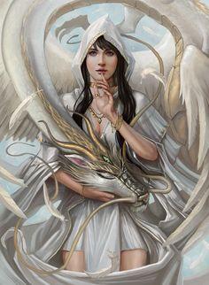 Fantasy artwork by Mictones