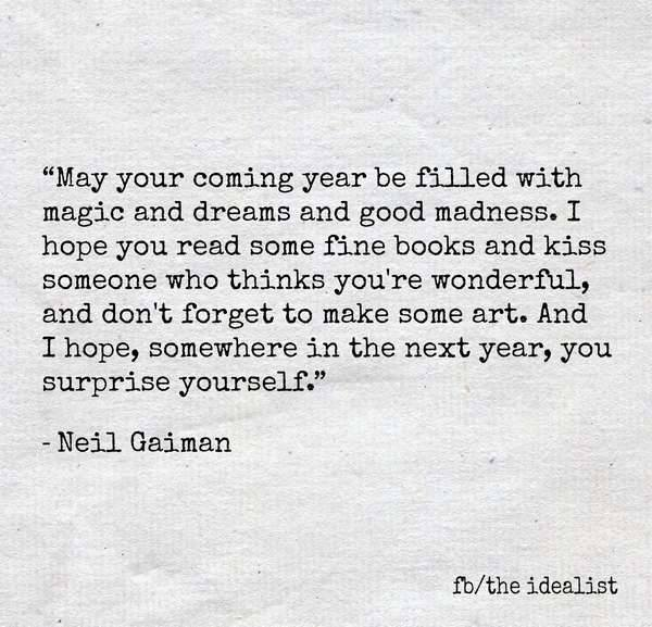 neil gaiman new year