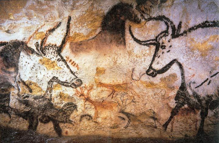 Auroch Cave Painting Lascaux, France