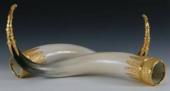 sutton hoo reproduction drinking horns